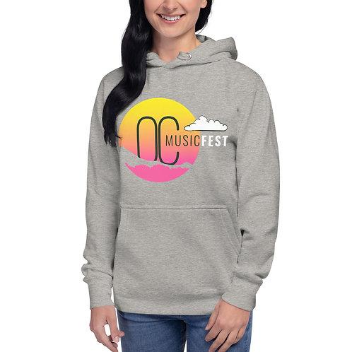 Unisex OC Music Fest Logo Hoodie
