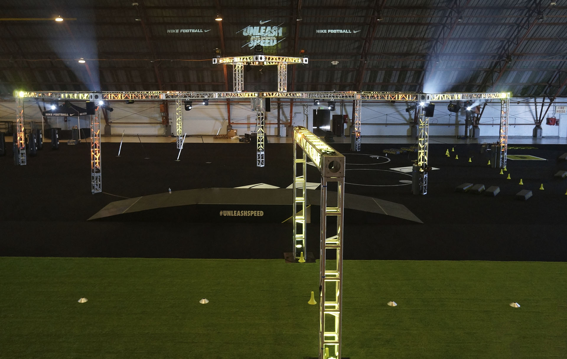 Nike Training - Airport Hanger