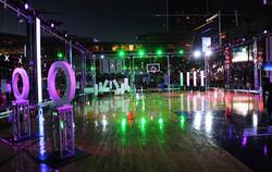 Custom Build Basketball Court