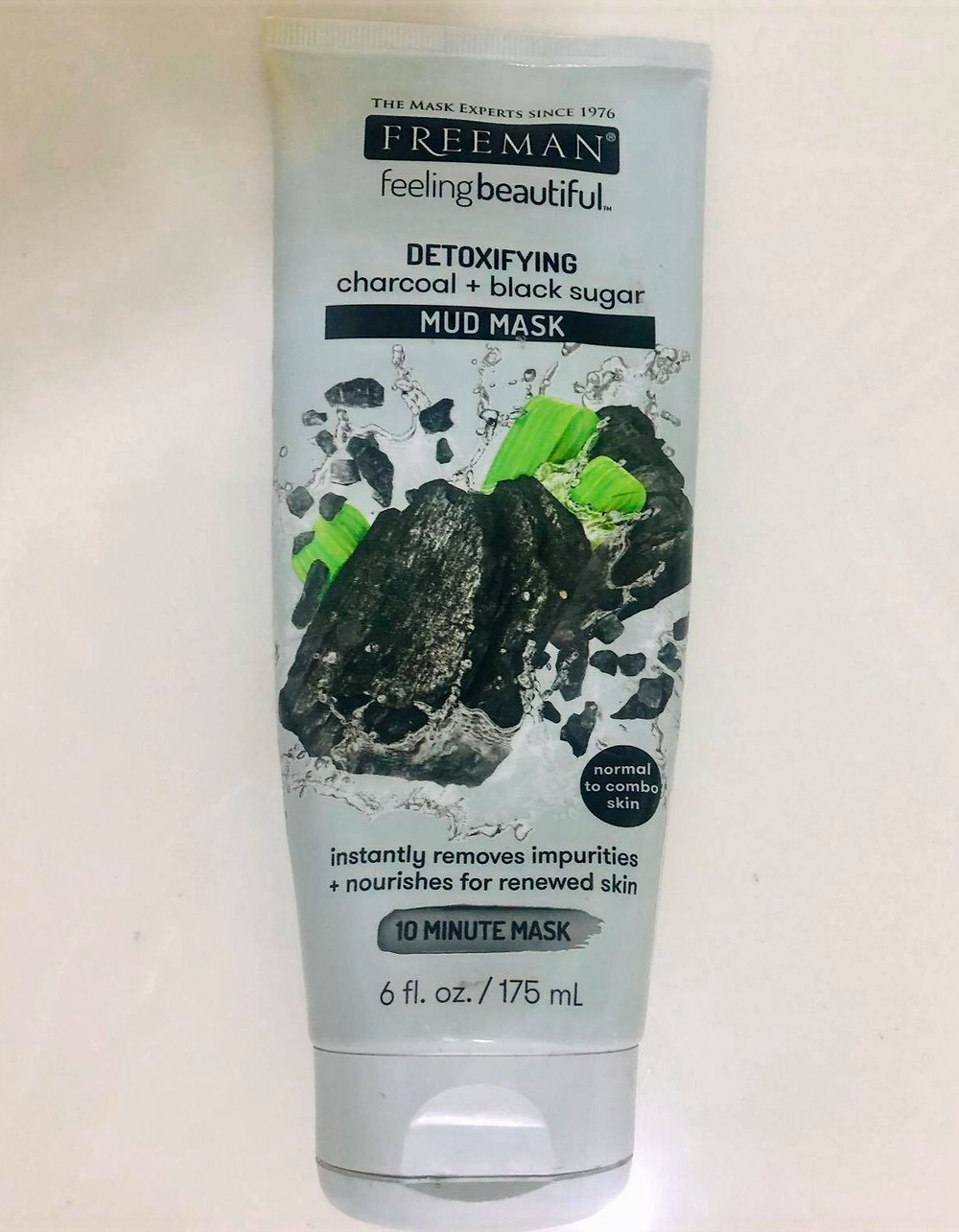 Freeman Detoxifying charcoal +Black sugar Mud mask