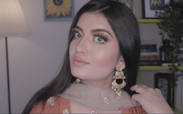 EID 2020 Makeup tutorial by fatima the ordinary style girl