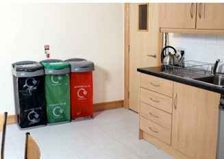 Kitchen Recycling Station | Office bins | Food Waste