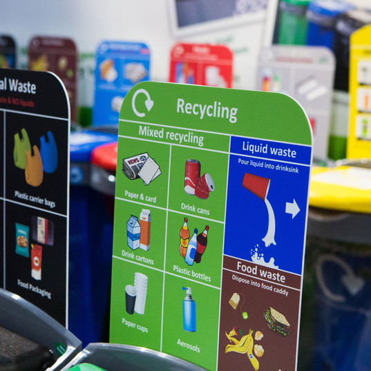 Office Recycling Station | Paper Recycling |Office bins | Food Waste | EcoDepo