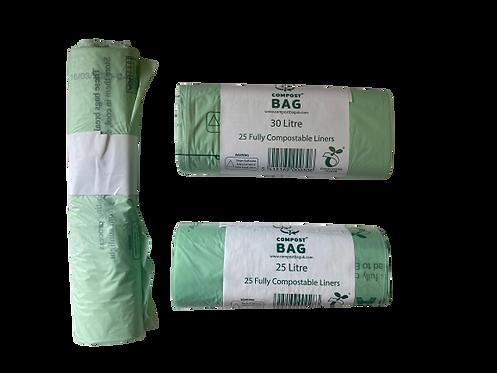 Compostable bags 10/25/30 Litre