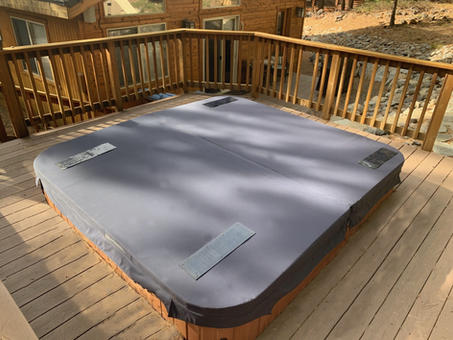 Deck mounted DuraCore Solar.