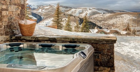Melt away shivers with solar spa heating