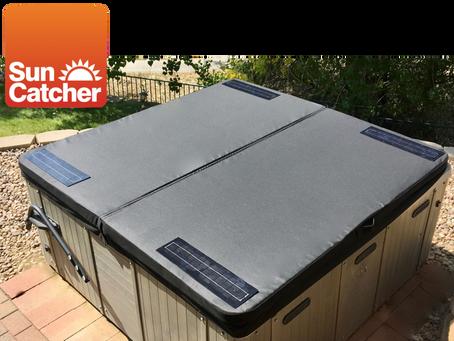 Solar Hot Tub Heater; the easy way