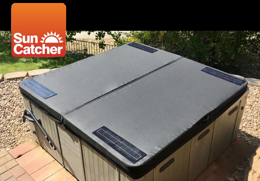SunCatcher solar heating spa cover