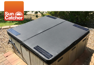 SunCatcher solar heating spa cover
