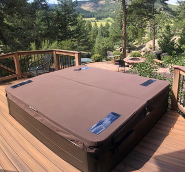 DuraCore Solar on Hot Spring Grandee in Evergreen, Colorado.
