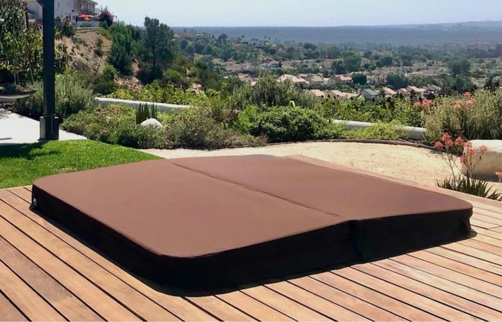 Deck mounted DuraCore Super cover in True Brown.