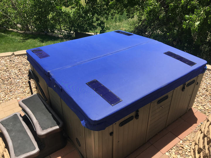 DuraCore Solar in Royal blue.
