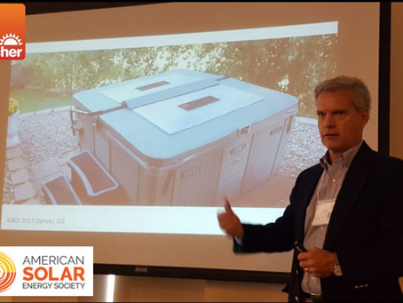 A Solar Pioneer in the Spa Industry
