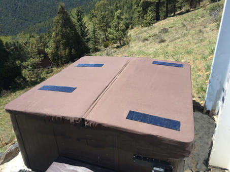 DuraCore Solar in True Brown in Evergreen, Colorado.