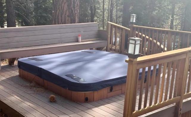 Deck mounted DuraCore Solar in Lake Tahoe.