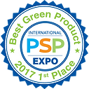 Pool Spa Patio Expo First Place Award to Aztech for Best Green Product