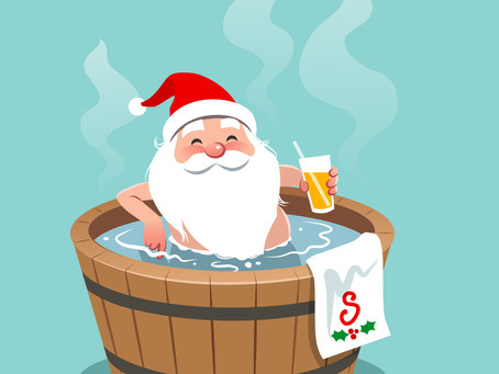 Ode to a Holiday Hot Tub