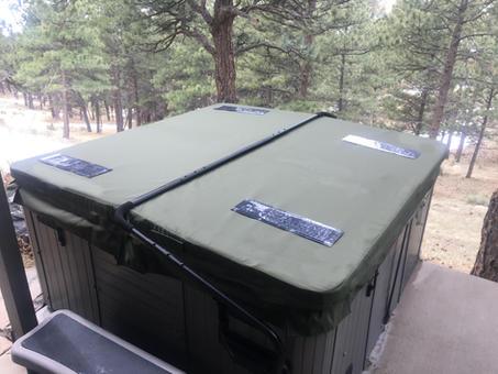 DuraCore solar in Moss green in Boulder, Colorado.