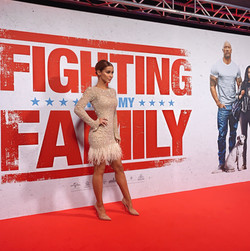 FIGHTING WITH MY FAMILY RED CARPET PREMIER