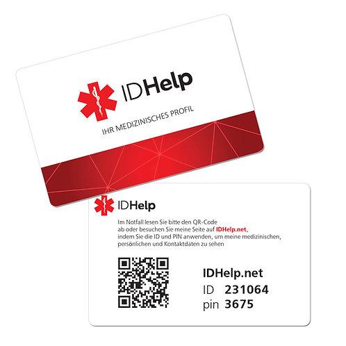 Персональная медицинская ID карточка DEU