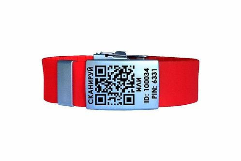 Медицинский ID браслет IDHelp РУСС