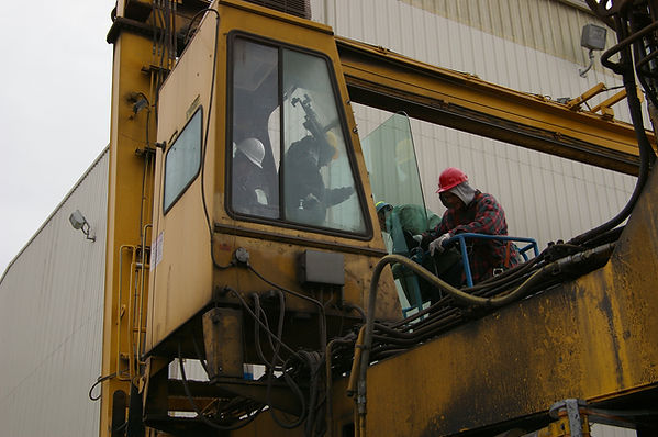 Heavy Equipment Glass Replace Indiana Indianapolis