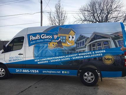 Paul's Gass Van