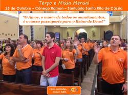 Missa Mensal - 25 de Outubro