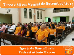 Terço e Missa Out/2014