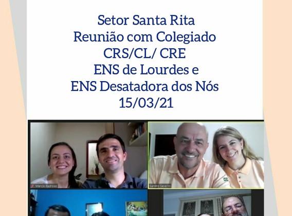 SRS -Reunião Colegiado ENS de Lourdes e