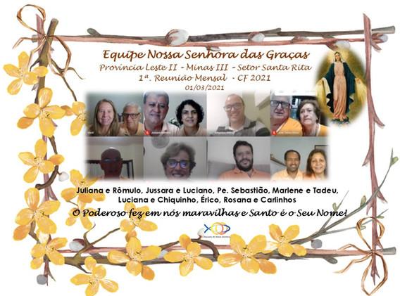 SRS - ENS das Graças - Reunião Mensal.