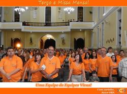 Terço e Missa Mensal - Mar/14