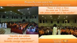 Missa Mensal de Abril