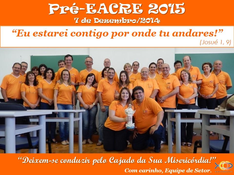 Pré-EACRE 2015