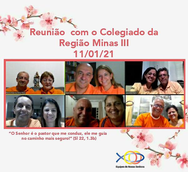 REUNIÃO DE COLEGIADO - MINAS III - 11-0