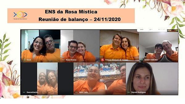 A - ENS DA ROSA MÍSTICA - REUNIÃO DE BAL