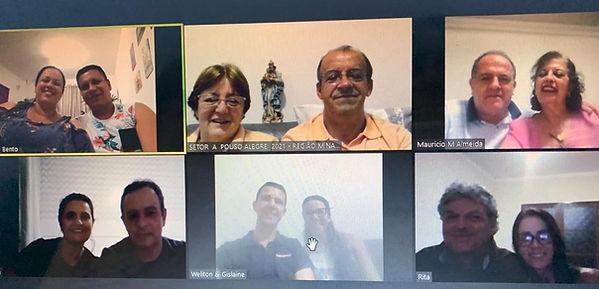 A - Reunião de Setor com casais enxerta