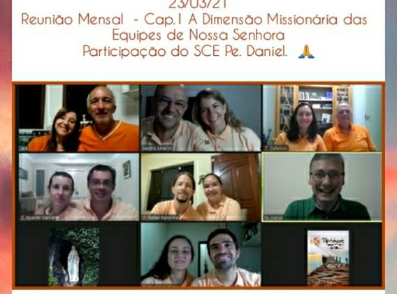 SRS - ENS de Lourdes - Reunião Mensal -