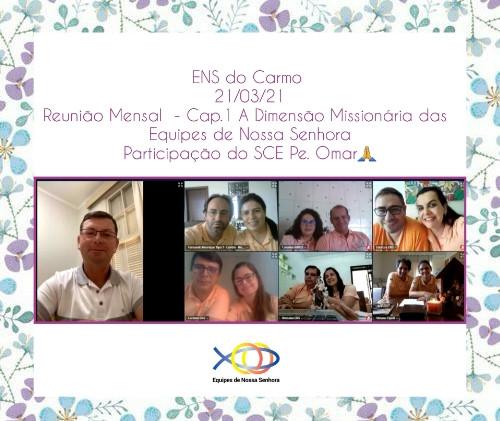 SRS - ENS do Carmo - Reunião Mensal cap
