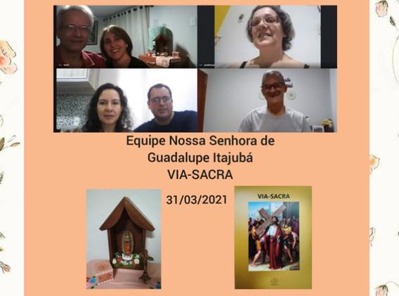 SRS - ENS Guadalupe Itajubá - Via Sacra