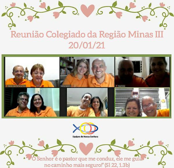 REUNIÃO DE COLEGIADO - MINAS III - 20-0