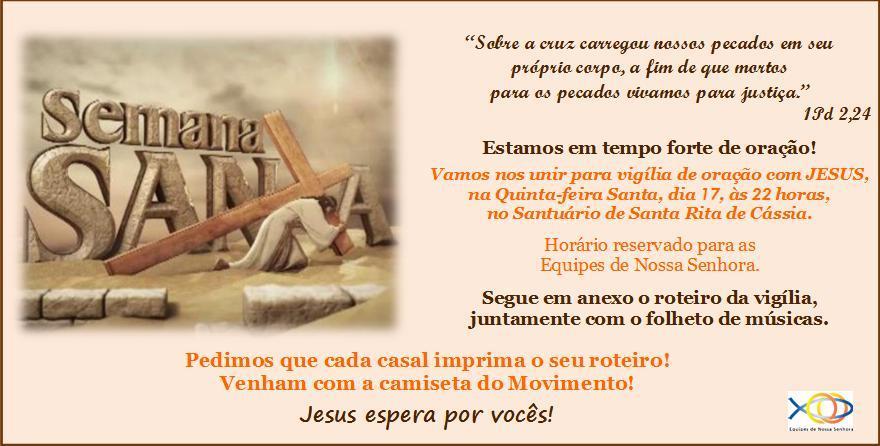 Convite Vigília de Oração