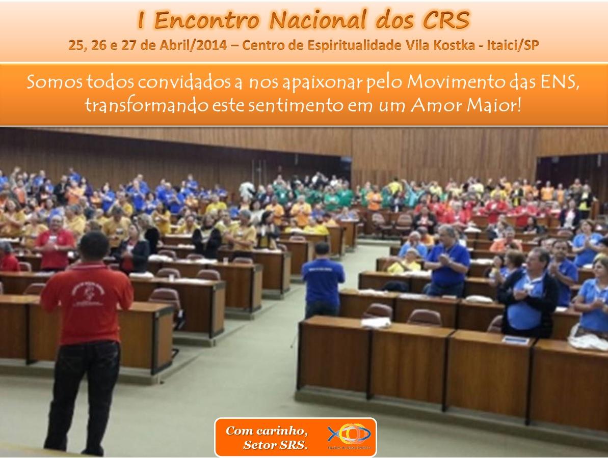 Encontro Nacional dos CRS
