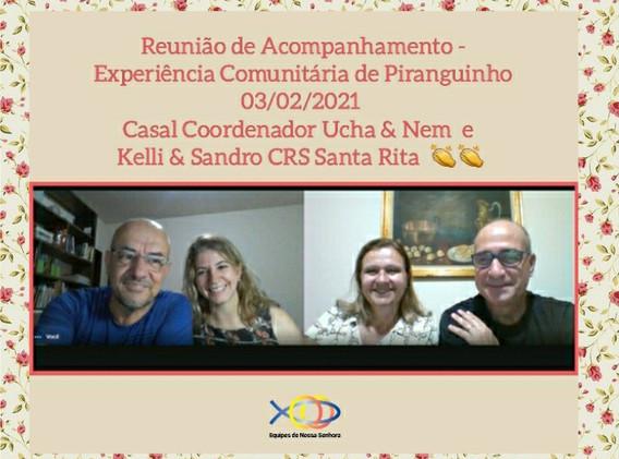 SRS - REUNIÃO DE ACOMPANHAMENTO EXP. C.