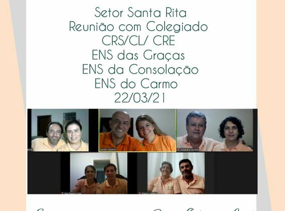 SRS - Reunião com colegiado - ENS das G