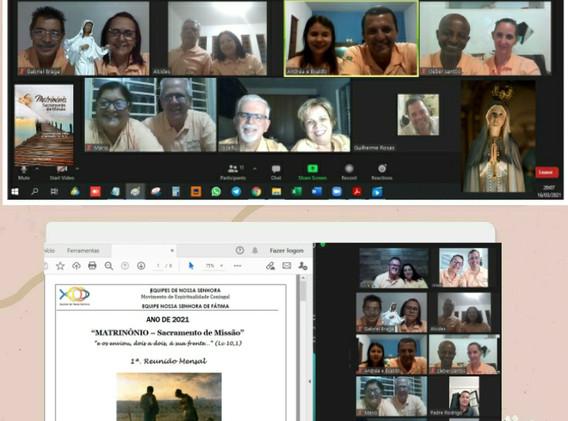 SRS - ENS de Fátima - Reunião Mensal c