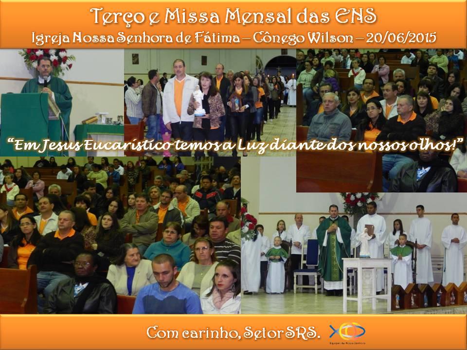 Missa Mensal Junho