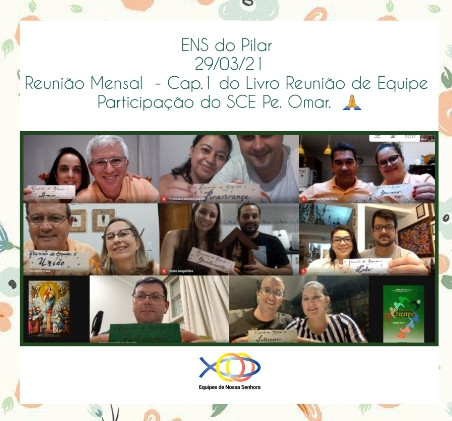 SRS -  ENS do Pilar - Reunião Mensal ca