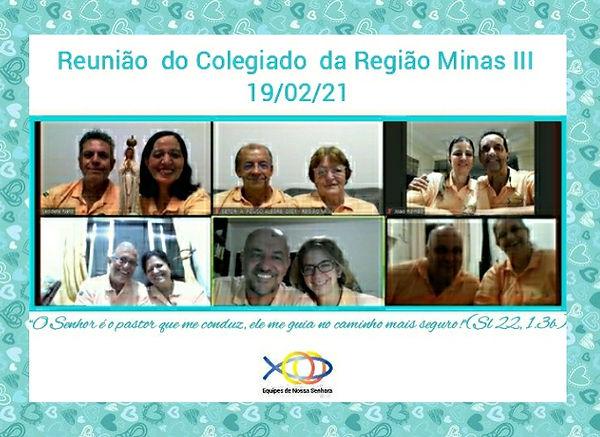 Minas III - Reunião de Colegiado - 19-0