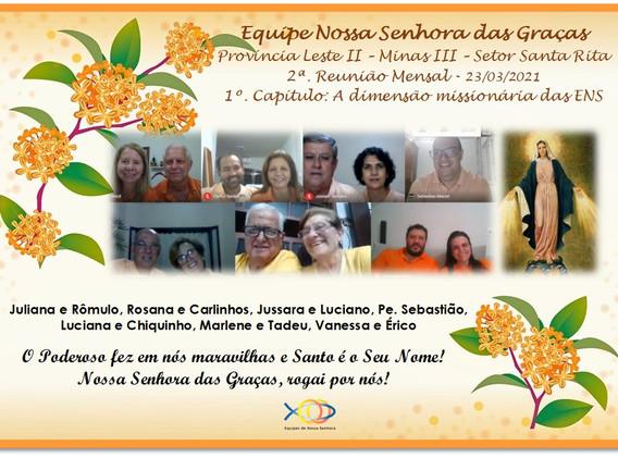 SRS - ENS das Graças - Reunião Mensal